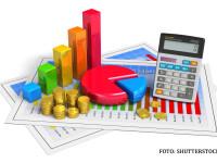 bani, finante, economie, buget, grafice