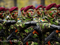 militari romani la parada