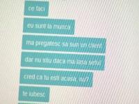 Discutie messenger