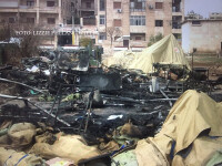 spital rusesc de campanie atacat in Alep