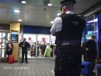 politie britanica la aeroport