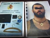 roman arestat in Italia
