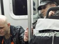 Faith in humanity: restored. O batranica le-a dat calatorilor dintr-un metrou o adevarata lectie, cand a vazut un barbat cu probleme