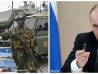 Cover soldati NATO si Vladimir Putin