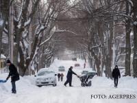 iarna in Halifax, Canada