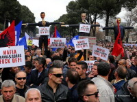 proteste Albania - AFP, Getty