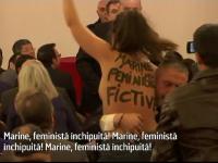 activista feminista, Marine Le Pen - stiri