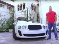 El are numai masini de lux, dar sa vezi ce conduce iubita lui! John Cena a prezentat bijuteria condusa de Nikki Bella! VIDEO