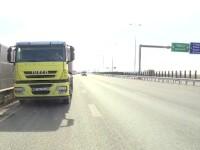 TIR pe autostrada