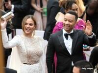 Chrissy Teigen si John Legend la Oscar 2017