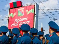 militari din Transnistria in Tiraspol