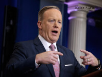 White House press Secretary Sean Spicer speaks during the daily White House briefing