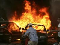explozie masina capcana