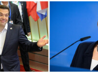 Alexis Tsipras, Angela Merkel cover - AGERPRES
