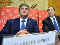 Gabriel Oprea si Victor Ponta FOTO AGERPRES