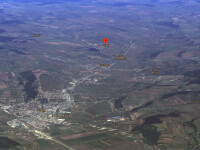 harta Vaslui vazut pe Google Maps, satul valeni