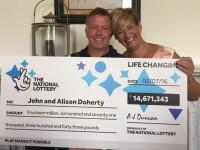 Instalatorul care a castigat 14 milioane de lire la loterie, dar continua sa repare toalete