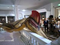 Hatzegopteryx, cel mai mare dinozaur zburator din lume descoperit pe teritoriul Romaniei si reprodus la scara 1:1 este prezentat in cadrul unui eveniment organizat de Dino Parc Rasnov, Muzeul National de Istorie Naturala Grigore Antipa si Muzeul de Geol