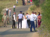 accident, dambovita, nunta, Burduca