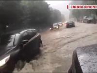 ploi, drumuri blocate, sinaia, buzau, raul slanic,
