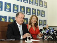 Vasile Blaga si Alina Gorghiu FOTO AGERPRES