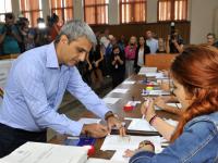 Robert Turcescu la vot