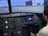 Simulator zbor avion
