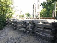 pasarela feroviara din parcul Herastrau
