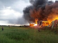 incendiu hale Balotesti