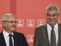 Mihai Tudose si Liviu Dragnea