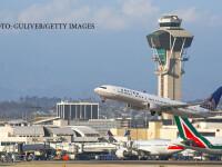 avioane pe aeroportul din Los Angeles