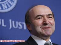 Ministrul Justitiei, Tudorel Toader, face declaratii de presa la sediul ministerului justitiei