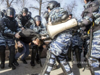 proteste Rusia, manifestant agresat