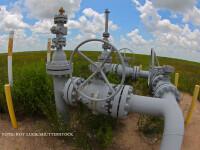 gazoduct in camp