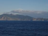 insula Kuchinoerabu inainte de eruptia vulcanului Shindake