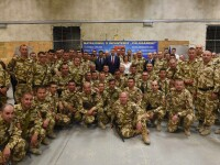 Klaus Iohannis in Afganistan