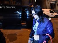 Geanina Terceanu, judecatoare la Tribunalul Bucuresti, este adusa la sediul DNA