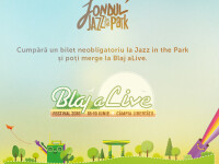 Cumpara un bilet neobligatoriu la Jazz in the Park si poti merge la Blaj aLive Festival