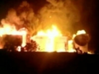 incendiu India