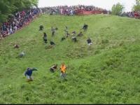 alergatul dupa roata de cascaval