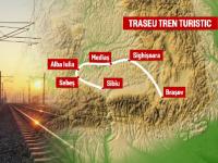 tren turistic Transilvania