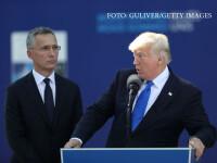 Donald Trump si Jens Stoltenberg