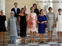 primele doamne la reuniunea NATO de la Bruxelles