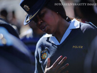 politista din Pretoria, Africa de Sud