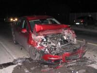 Ceata a provocat un accident sangeros in Arad. Doi tineri au murit