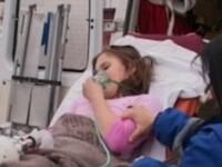 Copii au fost transportati la spital