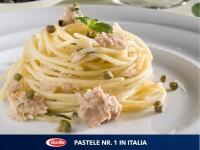 Barilla Spaghetti cu Ton, Capere si Menta