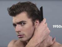 100 de ani de stil masculin in mai putin de 2 minute. Cum au aratat barbatii in ultimul secol: VIDEO