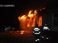 incendiu scoala Rachiti, Botosani