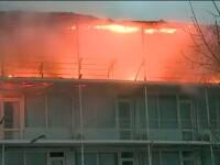 Incendiu hotel litoral